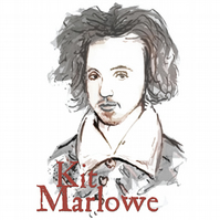 T-Shirt: CHRISTOPHER MARLOWE: Kit To His Friends