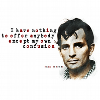 T-Shirt: JACK KEROUAC: My Own Confusion