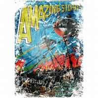 T-Shirt: WAR OF THE WORLDS: Amazing Stories