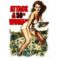 T-Shirt: ATTACK OF THE FIFTY FOOT WOMAN: B-Movie