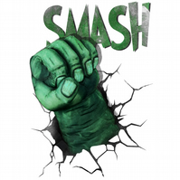 T-Shirt: THE HULK: Smash!