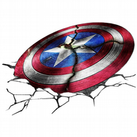 T-Shirt: CAPTAIN AMERICA: The Avenging Shield