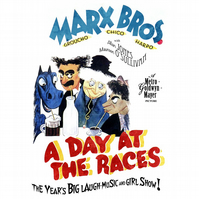 T-Shirt: MARX BROTHERS: A Day At The Races