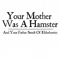 T-Shirt: MONTY PYTHON: Your Mother Was A Hamster
