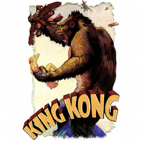 T-Shirt: KING KONG: Strikes Back From The Empire