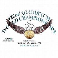 T-Shirt: HARRY POTTER: Quidditch World Championships