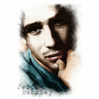 T-Shirt: JEFF BUCKLEY: Portrait