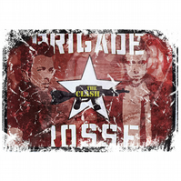 T-Shirt: THE CLASH: Brigade Rosse