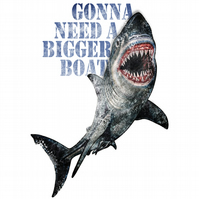 T-Shirt: JAWS: You're Gonna Need A Bigger Boat