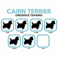 T-Shirt: CAIRN TERRIER - Obedience Training .All Dog Breeds Available LazyCarrot
