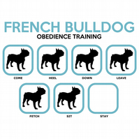 T-Shirt: FRENCH BULLDOG Obedience Training - All Dog Breeds Available LazyCarrot