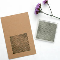 Lines Clear Rubber Stamp - Lines - Lines Background Stamp - Lines Stamp -