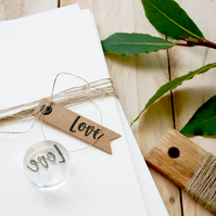 Love Clear Rubber Stamp SMALL - Love Stamp - Love - Valentines Stamp