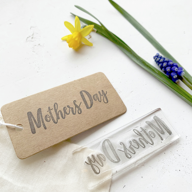 Mothers Day Clear Rubber Stamp - Mothers Day - Mothers Day Stamp