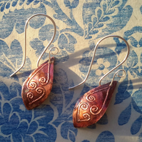 Celtic Fern - (Copper Design 1)
