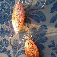 Celtic Fern - (Copper Design 2)