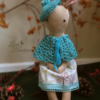Rebecca Rabbit Heirloom Forest Doll
