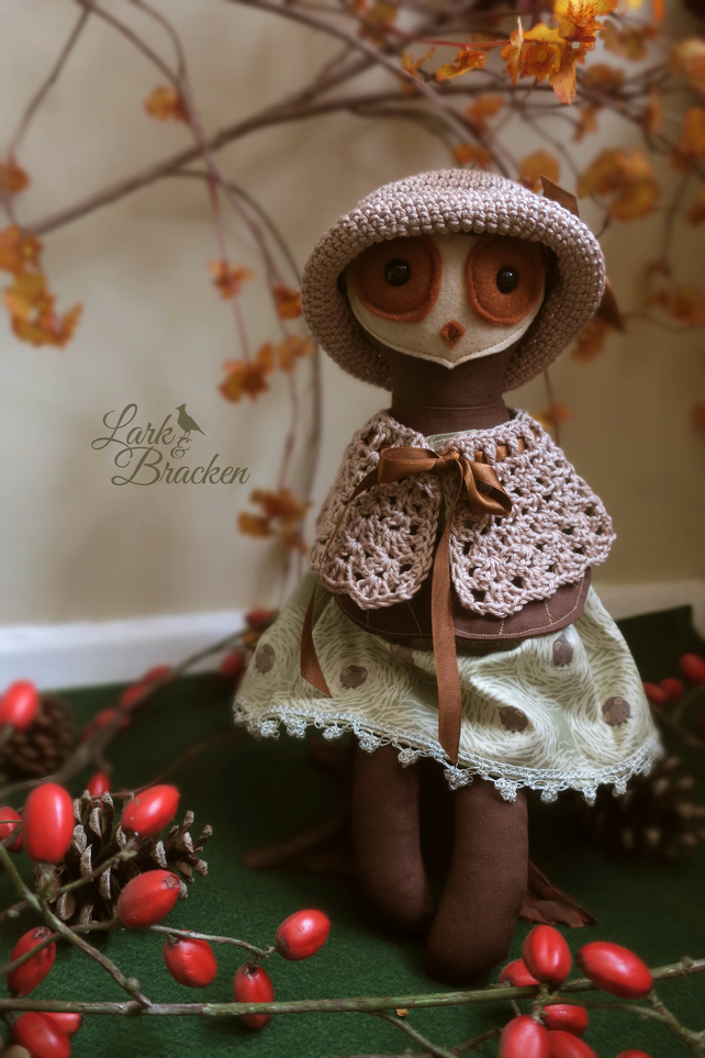 Olivia the Owl Heirloom Forest Doll