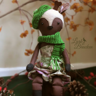 Diana the Deer Heirloom Forest Doll