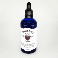 Rosemary and Bourbon Growth promoting Beard Oil 100ml