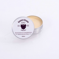 Mandarin & Cedarwood firm Moustache & Beard Wax 60ml