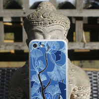 Blue Ginkgo Leaves pattern iPhone 7 case