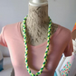 Pretty Handmade Plaited Acrylic Wool Necklace