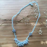 Winter Wonderland Beaded Necklace