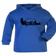 "ETHNIC ""Book Smart Kids"". Children's Summer Hoodie By The Little Baby Boutique"