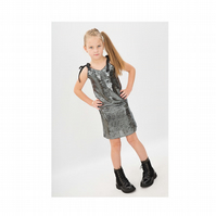 Belle Sequin Dress - Girls Party Dress - Girls Sequin Dress - Girls Partywear