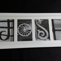 FRAME YOUR NAME alphabet photography pictures gifts birthdays weddings