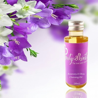 Rosemary& Olive Cleansing Oil, Make-up Remover , Dry & Mature Skin, All Natural