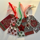 Pack of 5 Handmade Christmas Gift Tags