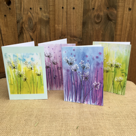 Wild Meadow Field design cards