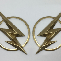 Flash Emblem Badge Helmet ear pieces