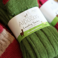 Thick Alpaca Wool Country Socks