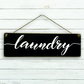 Laundry Hanging Sign