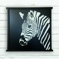 Large Zebra Painting