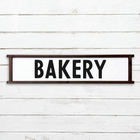 Bakery Sign - 100% Handmade and Hand-Painted in England.