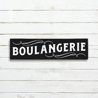 Vintage Style Boulangerie Sign - 100% Handmade and Hand-Painted in England