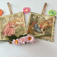 FLOWER FAIRIES LAVENDER BAGS SACHETS...SET B