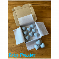 Handmade 100% Soya Wax Baby Powder Scented Melts