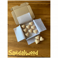 Handmade 100% Soya Wax Sandalwood  Scented Melts