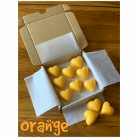 Handmade 100% Soya Wax Orange Scented Melts