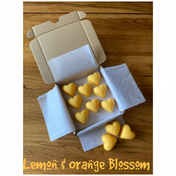 Handmade 100% Soya Wax Lemon & Orange Blossom Scented Melts
