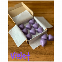 Handmade 100% Soya Wax Violet Scented Melts