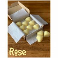 Handmade 100% Soya Wax Rose Scented Melts