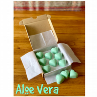 Handmade 100% Soya Wax Aloe Vera  Scented Melts