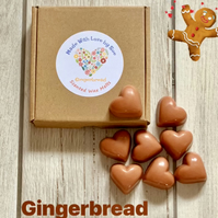 Handmade 100% Soya Gingerbread Scented Melts