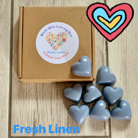 Homemade 100% Soya Wax Fresh Linen Scented Melts